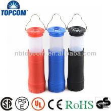 Led Retractable Camp Lantern Flashlight