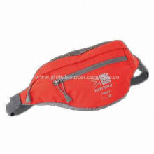 Waist Bag with Large Main Compartment, Made of Ripstop/PVC Polyester