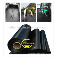 Waterproof Materials List /EPDM Roof Waterproof Membrane / High Flexible Waterproof Membrane/ Rubber Waterproof Materials