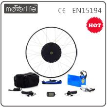 MOTORLIFE / OEM ROHS passent le kit électrique de vélo de 48v 1000w, kit de conversion de tricycle