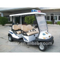 48V CE certification 4 seaters electric golf cart cheap police cart
