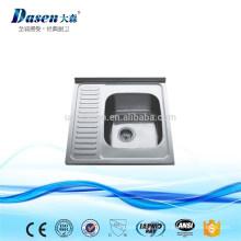 Dissipadores inoxidáveis industriais da bacia da lavagem DS6050 únicos