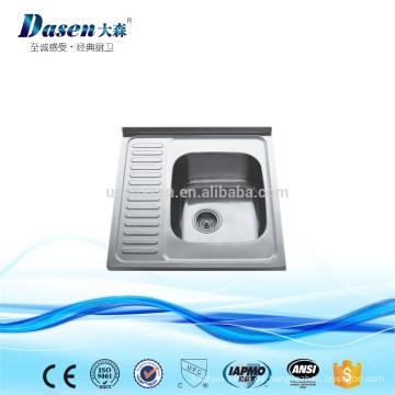 DS6050 industrielle rostfreie Wäsche einzelne Schüssel sinkt