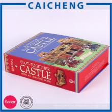 Caja de empaquetado de cartón de tamaño A4