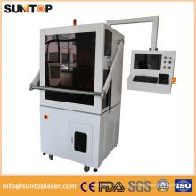 Machine de gravure laser à fibre 20W pour l'alunium, le cuivre, la laiton et le bois