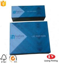 Hot printed magnetic folding gift cardboard box
