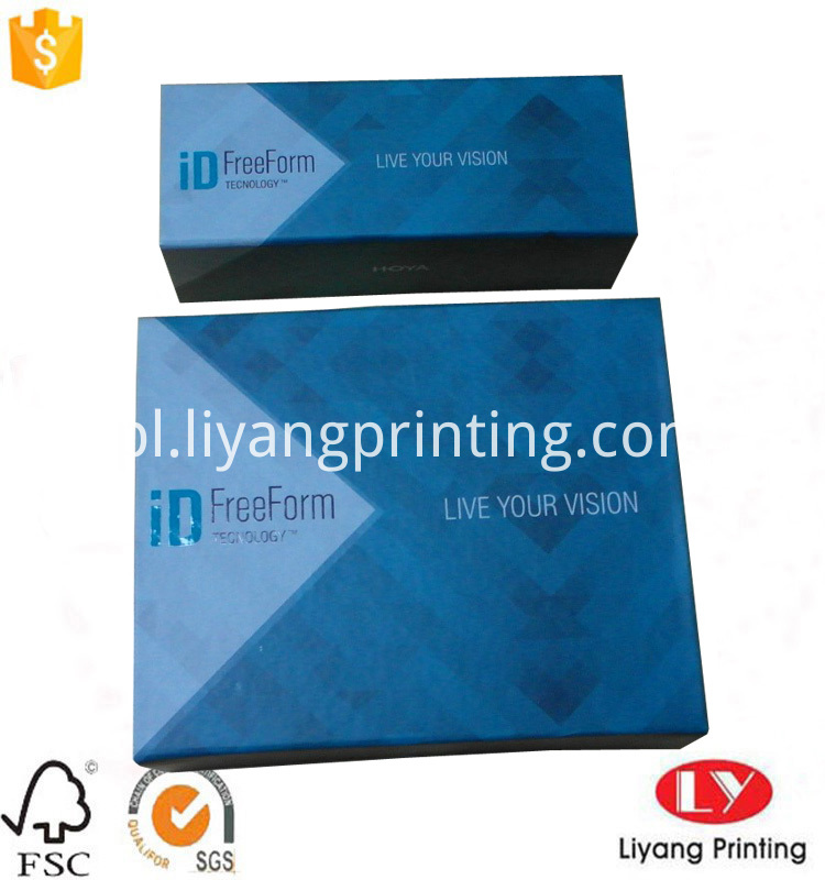 printed foldable box