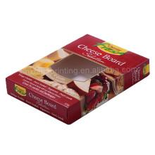 20.5 * 15 * 7.3CM Boîte d'emballage économique de cookie de conception faite sur commande