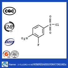 CAS 86156-93-6 Китай Горячая продажа 3-фтор-4-нитробензолсульфонилхлорид