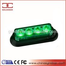 Auto iluminación verde LED luz intermitente de advertencia (SL620)