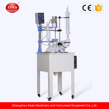Pyrex Chemistry Lab Equipment Glass Reactor Factory