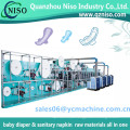 Servo Contol Sanitary Napkins Machine for U by Kotex Cleanwear Ultra Thin Pads with Wings,