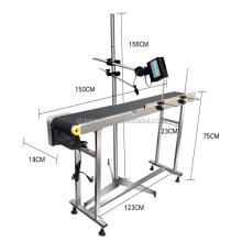 handheld inkject expiry date printing machine  print 1-6 line and Large capacity information storage.