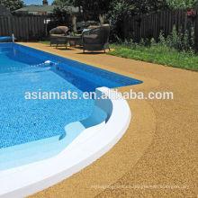 Trazador de líneas del estanque de EPDM, suelo de goma de la piscina