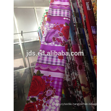 2015 New soft 90g/m 100% polyester printed fabric