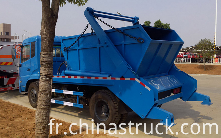 10Ton swing arm garbage truck