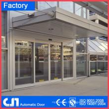 Porte automatique du capteur de l'aéroport avec cadre en aluminium