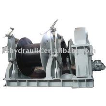 Cabrestante hidráulico de anclaje integrado