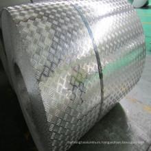 A3105 aluminum tread coil 5 bar