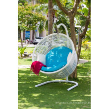Outdoor Synthetischer Rattan Swing Stuhl