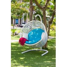2017 Hot Design Design Modern Synthetic Rattan Egg Chair Mobilier de jardin - Hamac