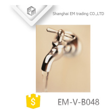 EM-V-B048 New Design Chromed polishing brass bibcock
