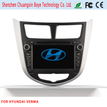 Car DVD de navegación Bluetooth Video SD USB para Hyundai Verna