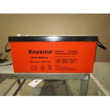 Batterie solaire de gel de cycle profond 12V200ah pour le système d'énergie solaire