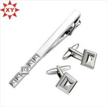 2015 nouveaux produits Élégant émail Men's Tie Clip Cufflink Set (XY-MXL73008)