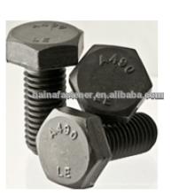 A490 Heavy Hex Schrauben, Heißgraben galvanisierte schwere Sechskantschraube, Carbon Stahl Sechskantschraube