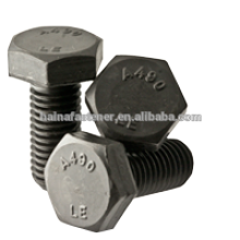 A490 Heavy Hex Bolts , hot dig galvanized heavy hex bolt, carbon steel hex bolt