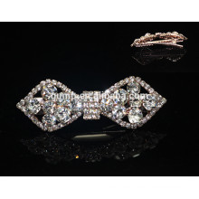 2015 Sweety Corea Bow Moda Rhinestone Hairgrip Crystal Hair accesorio