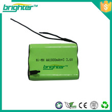 high temperature rechargeable 3.6v battery 2100mah