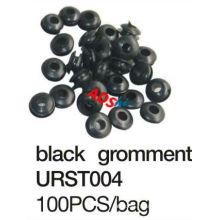 2013 hot sale black grommets tattoo rubber tetin