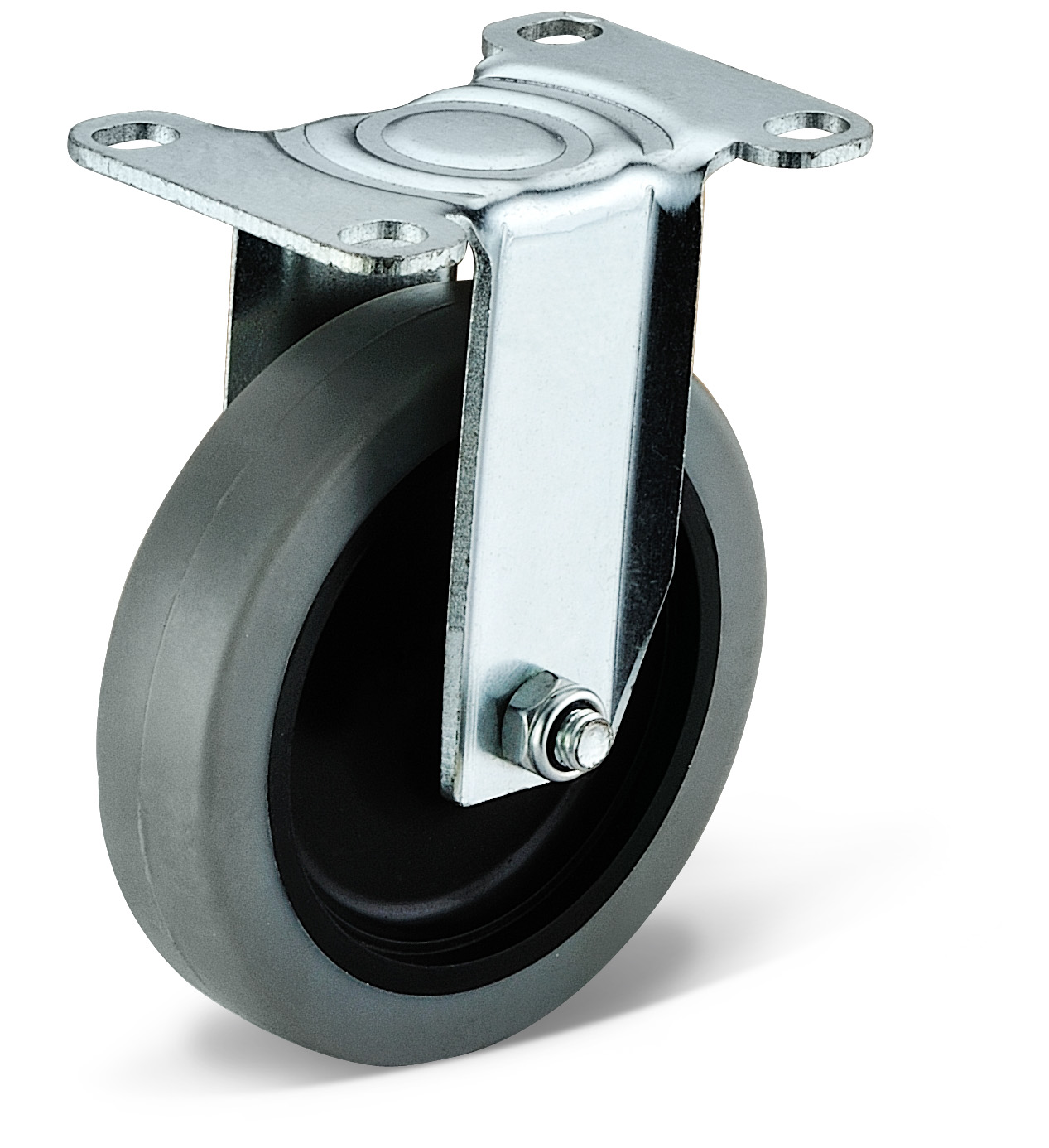 TPR Fixed Casters