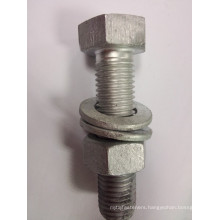 8.8 grade hot dip galvanized carbon steel nut/bolt