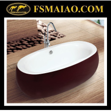 Baignoire de salle de bain acrylique en forme de bol (9002)