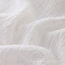 Tissu en lin souple en tissu à lin douce