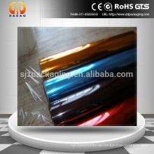 Garn Grade Polyester Film / Aluminium Pet Film / transparent Bunte Haustier Film