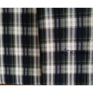 Tissu teint en fil de coton 100