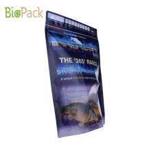 Side Compussable Side Gusset Top Pet Food Packaging Bag 5 ~ 10kg dalam Bahan PLA