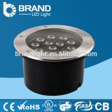 Lumière enterée LED IP67, lumière creuse LED 12W avec CE RoHS approuvée