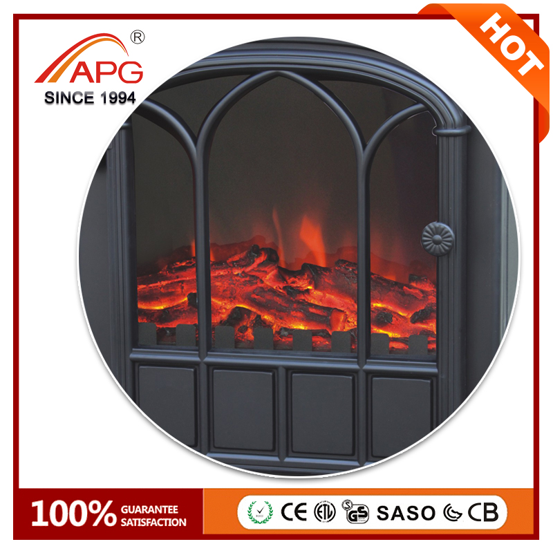 APG Marble Electric Freestanding Stand Fireplace