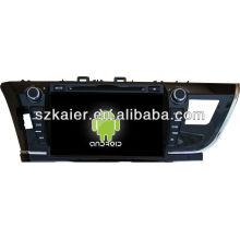 Система андроида автомобиля DVD для Toyota Венчик 2014