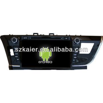Android System Auto DVD-Player für 2014 Toyota Corolla mit GPS, Bluetooth, 3G, iPod, Spiele, Dual Zone, Lenkradsteuerung