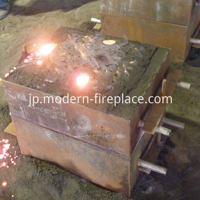 Wood Burning Outdoor Stoves Production