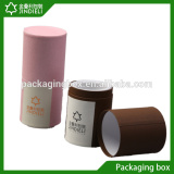 Cylindrical paper perfume packaging gift box design
