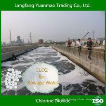 Le produit le plus vendu Poudre de dioxyde de chlore pour le traitement de l'eau d'égout