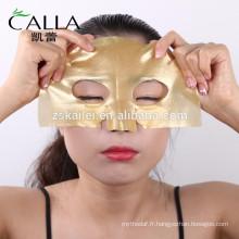 Prix usine antiaging poudre d'or masque pour la vente en gros