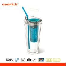 450ML fördernder BPA freier Plastikreise-Sport-Becher